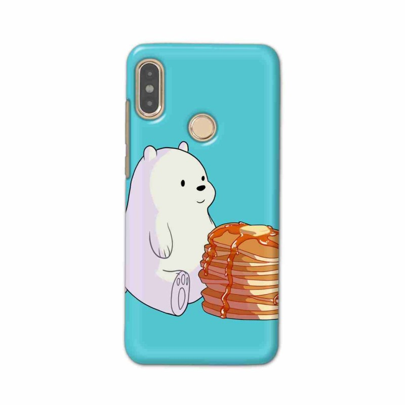 Buy Xiaomi Redmi Note 5 Pro Bear and Pan Cakes Mobile Phone Covers Online at Craftingcrow.com