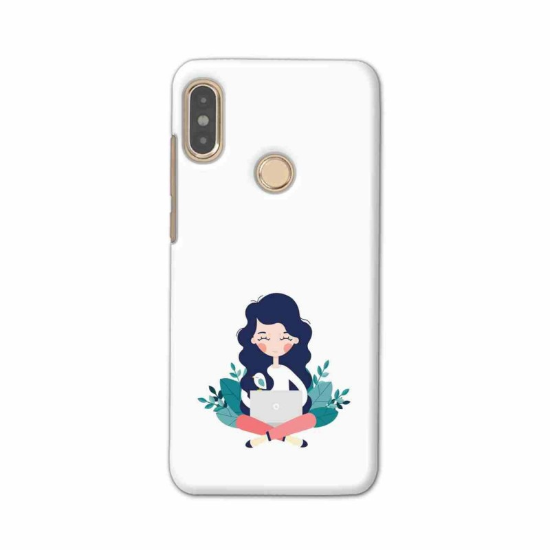 Buy Xiaomi Redmi Note 5 Pro Busy Lady Mobile Phone Covers Online at Craftingcrow.com