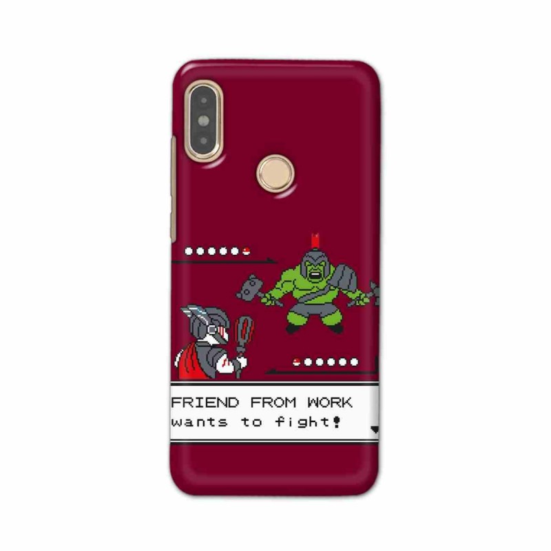 Buy Xiaomi Redmi Note 5 Pro Friend From Work Mobile Phone Covers Online at Craftingcrow.com