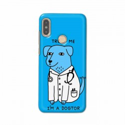 Buy Xiaomi Redmi Note 5 Pro I am Dogtor Mobile Phone Covers Online at Craftingcrow.com