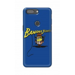 Crafting Crow Mobile Back Cover For One Plus 5t - Banana Jondes