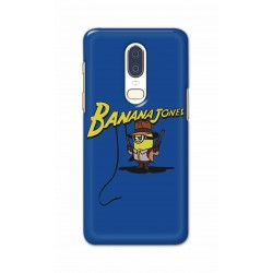 Crafting Crow Mobile Back Cover For One Plus 6 - Banana Jondes
