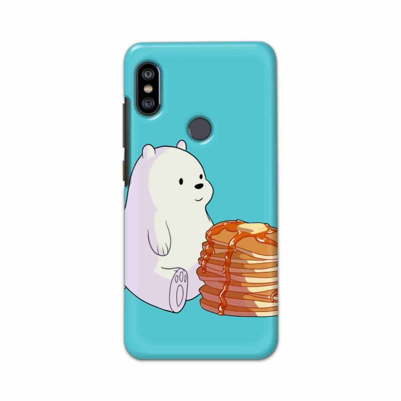 Buy Xiaomi Redmi Note 6 Pro Bear and Pan Cakes Mobile Phone Covers Online at Craftingcrow.com