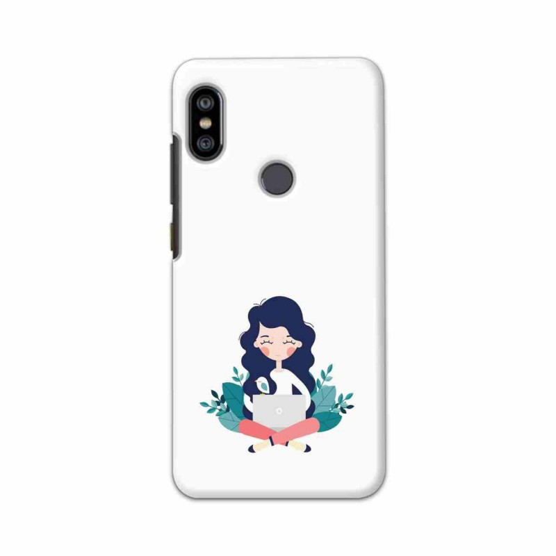 Buy Xiaomi Redmi Note 6 Pro Busy Lady Mobile Phone Covers Online at Craftingcrow.com