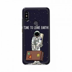 Buy Xiaomi Redmi Note 6 Pro Time to Leave Earth Mobile Phone Covers Online at Craftingcrow.com
