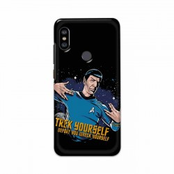 Buy Xiaomi Redmi Note 6 Pro Trek Yourslef Mobile Phone Covers Online at Craftingcrow.com