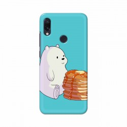 Buy Xiaomi Redmi Note 7 Bear and Pan Cakes Mobile Phone Covers Online at Craftingcrow.com