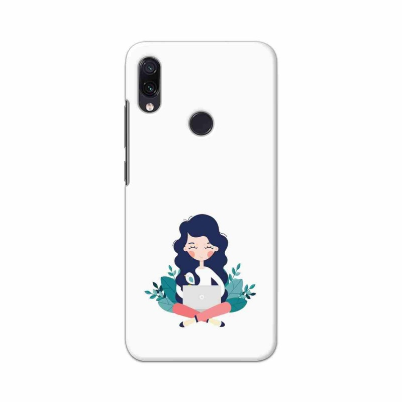 Buy Xiaomi Redmi Note 7 Busy Lady Mobile Phone Covers Online at Craftingcrow.com
