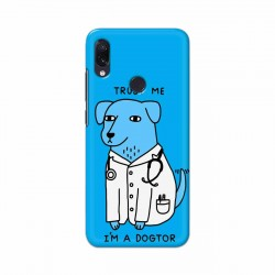 Buy Xiaomi Redmi Note 7 I am Dogtor Mobile Phone Covers Online at Craftingcrow.com