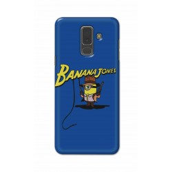 Crafting Crow Mobile Back Cover For Samsung A6 Plus - Banana Jondes