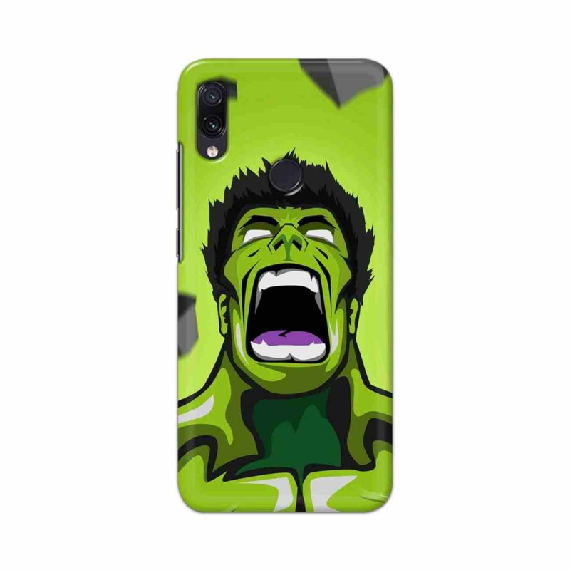 Buy Xiaomi Redmi Note 7 Rage Hulk Mobile Phone Covers Online at Craftingcrow.com