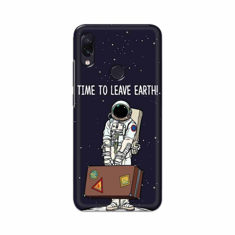 Buy Xiaomi Redmi Note 7 Time to Leave Earth Mobile Phone Covers Online at Craftingcrow.com