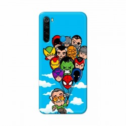 Buy Xiaomi Redmi Note 8 Excelsior Mobile Phone Covers Online at Craftingcrow.com