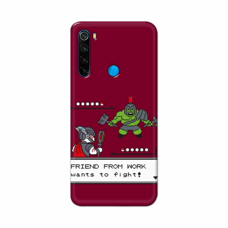 Buy Xiaomi Redmi Note 8 Friend From Work Mobile Phone Covers Online at Craftingcrow.com