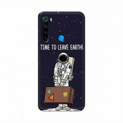 Buy Xiaomi Redmi Note 8 Time to Leave Earth Mobile Phone Covers Online at Craftingcrow.com
