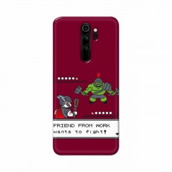 Buy Xiaomi Redmi Note 8 Pro Friend From Work Mobile Phone Covers Online at Craftingcrow.com