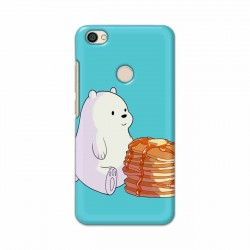 Buy Xiaomi Redmi Y1 Bear and Pan Cakes Mobile Phone Covers Online at Craftingcrow.com