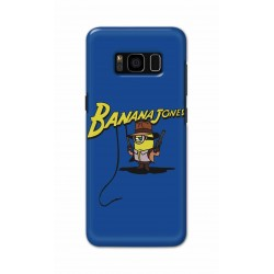 Crafting Crow Mobile Back Cover For Samsung S8 - Banana Jondes