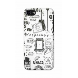 Crafting Crow Mobile Back Cover For Apple Iphone 7 - Friends