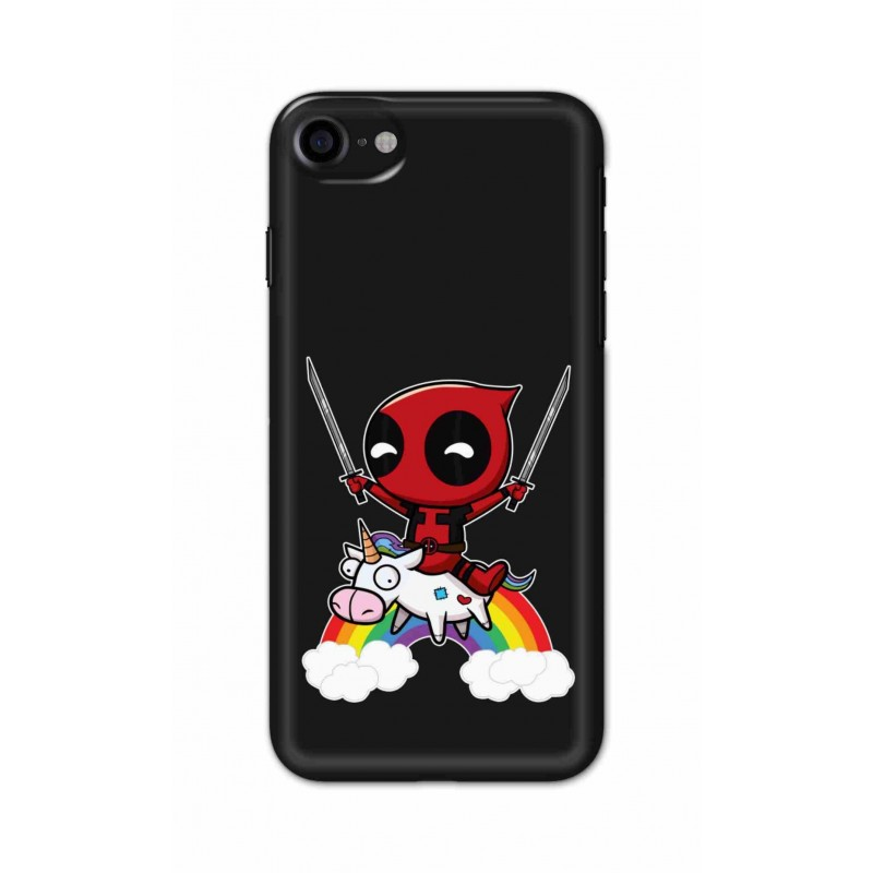 Crafting Crow Mobile Back Cover For Apple Iphone 7 - Deadpool