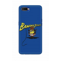 Crafting Crow Mobile Back Cover For Oppo K1 - Banana Jondes