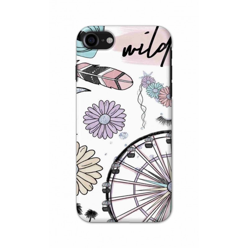 Crafting Crow Mobile Back Cover For Apple Iphone 7 - Wild