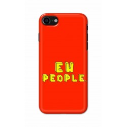 Crafting Crow Mobile Back Cover For Apple Iphone 7 - EW People