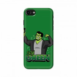 Buy Apple Iphone 7 Say Green Mobile Phone Covers Online at Craftingcrow.com