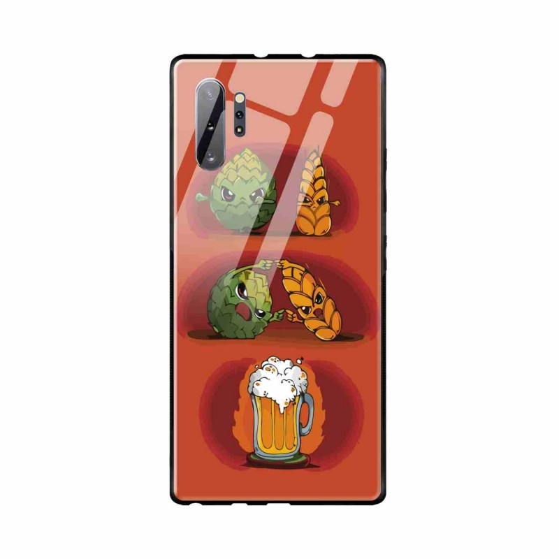 Buy Samsung Galaxy Note 10 Plus Beer Fusion- Glass Case Mobile Phone Covers Online at Craftingcrow.com