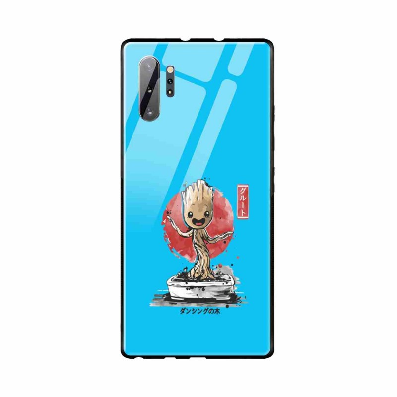 Buy Samsung Galaxy Note 10 Plus Bonsai Groot- Glass Case Mobile Phone Covers Online at Craftingcrow.com