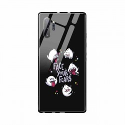 Buy Samsung Galaxy Note 10 Plus Face Your Fears- Glass Case Mobile Phone Covers Online at Craftingcrow.com