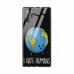 Buy Samsung Galaxy Note 10 Plus I Hate Humans- Glass Case Mobile Phone Covers Online at Craftingcrow.com