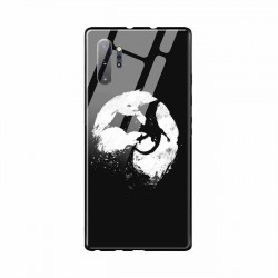 Buy Samsung Galaxy Note 10 Plus Midnight Desolution- Glass Case Mobile Phone Covers Online at Craftingcrow.com