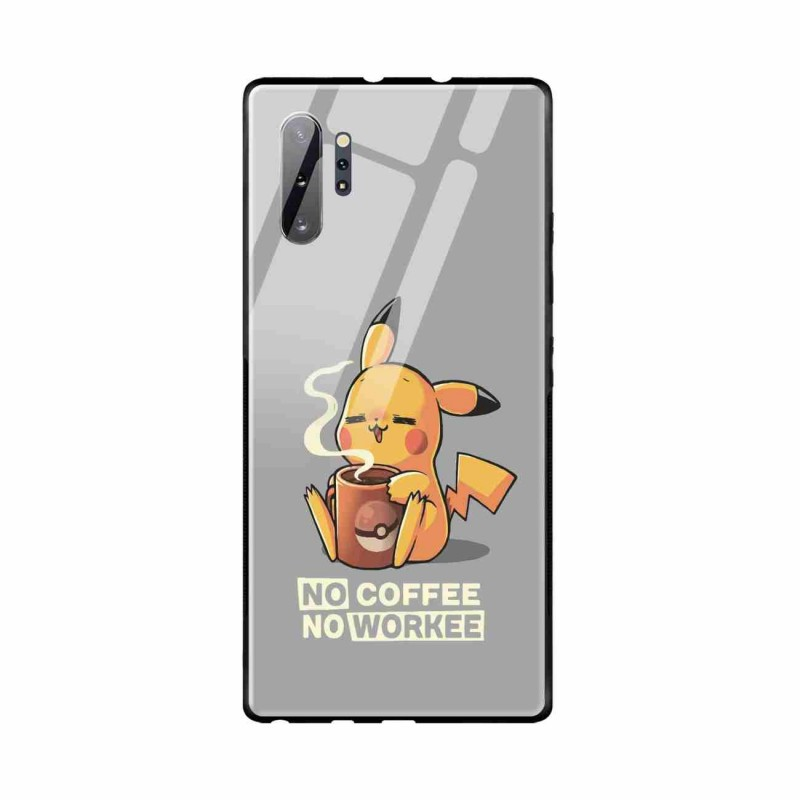 Buy Samsung Galaxy Note 10 Plus No Coffee No Workee- Glass Case Mobile Phone Covers Online at Craftingcrow.com