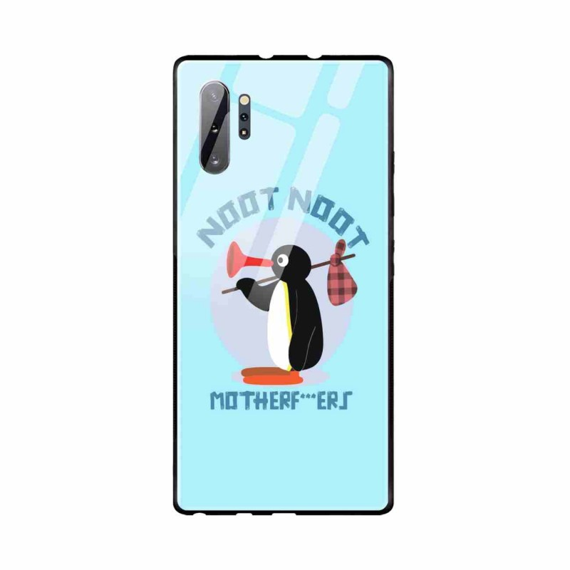 Buy Samsung Galaxy Note 10 Plus Noot Noot- Glass Case Mobile Phone Covers Online at Craftingcrow.com
