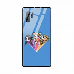 Buy Samsung Galaxy Note 10 Plus Power Puff Birds- Glass Case Mobile Phone Covers Online at Craftingcrow.com