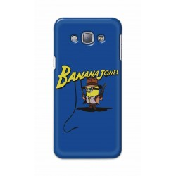 Crafting Crow Mobile Back Cover For Samsung Galaxy A8 - Banana Jondes