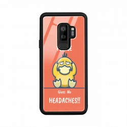Buy Samsung S9 Plus Headaches- Glass Case Mobile Phone Covers Online at Craftingcrow.com