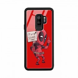 Buy Samsung S9 Plus I am with Stupid- Glass Case Mobile Phone Covers Online at Craftingcrow.com