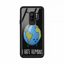 Buy Samsung S9 Plus I Hate Humans- Glass Case Mobile Phone Covers Online at Craftingcrow.com