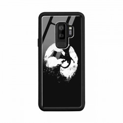Buy Samsung S9 Plus Midnight Desolution- Glass Case Mobile Phone Covers Online at Craftingcrow.com