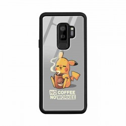 Buy Samsung S9 Plus No Coffee No Workee- Glass Case Mobile Phone Covers Online at Craftingcrow.com
