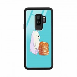 Buy Samsung S9 Plus Bear and Pan Cakes Mobile Phone Covers Online at Craftingcrow.com