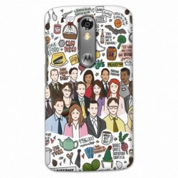 Buy Moto X Force The Office Mobile Phone Covers Online at Craftingcrow.com