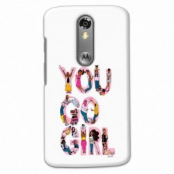Buy Moto X Force You Go Girl Mobile Phone Covers Online at Craftingcrow.com