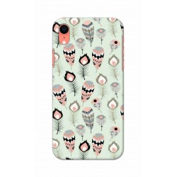 Crafting Crow Mobile Back Cover For Apple Iphone XR - Feather