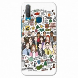 Buy Vivo Y17 The Office Mobile Phone Covers Online at Craftingcrow.com