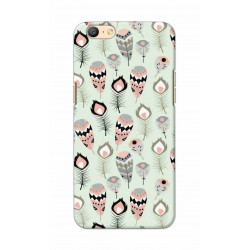 Crafting Crow Mobile Back Cover For Oppo A57 - Feather