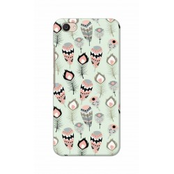 Crafting Crow Mobile Back Cover For Vivo V5 Plus - Feather