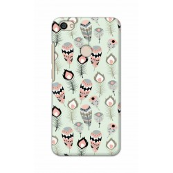 Crafting Crow Mobile Back Cover For Xiaomi Redmi Y1 - Feather